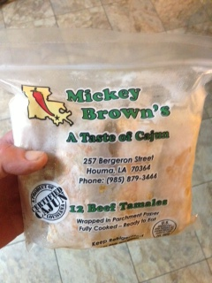 Mickey Brown's Hot Tamales