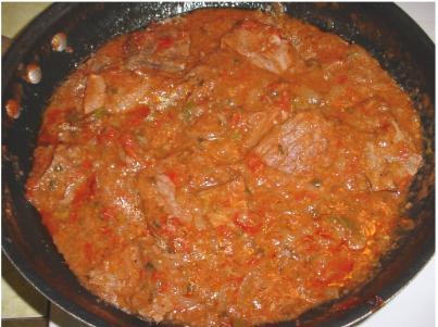 Round Steak Amp Tomato Gravy Cooking Louisiana